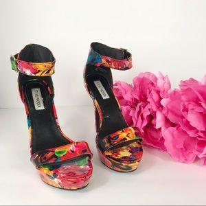 Steve Madden Sacchi Floral Stilettos.